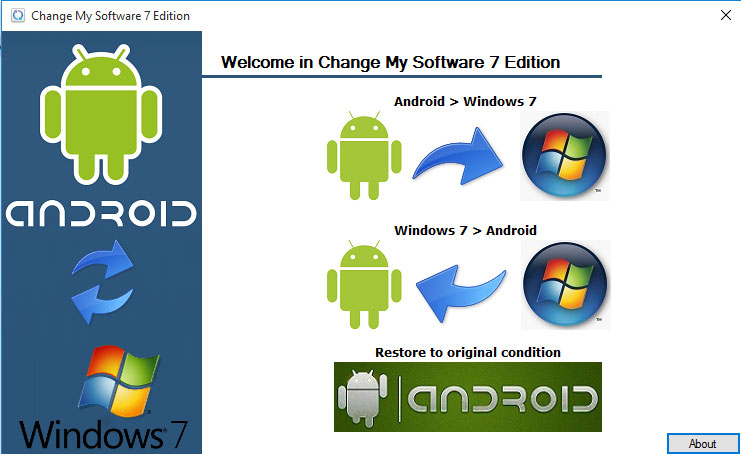 Download Change My Software 7 Edition - Download change my software